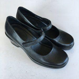 DANSKO Mary Jane Leather Low Heel Shoes Size 40
